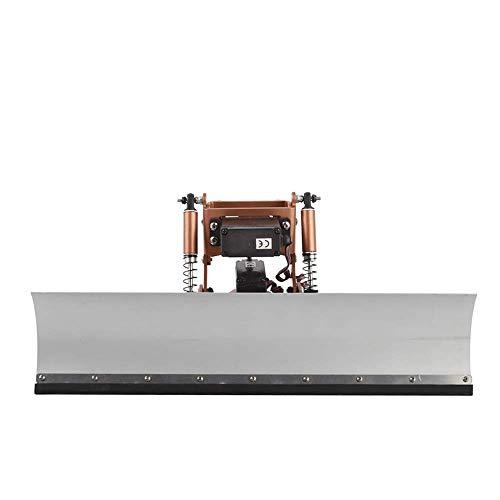 YEDENGPAO Empujador De La Nieve De Empuje Manual Nieve Pala Arado, 1/10 RC TRX4 Radio Control De La Nieve De La Pala Y El Servo De Nieve Herramientas De Barrido para RC TRX4,Incidentalservo
