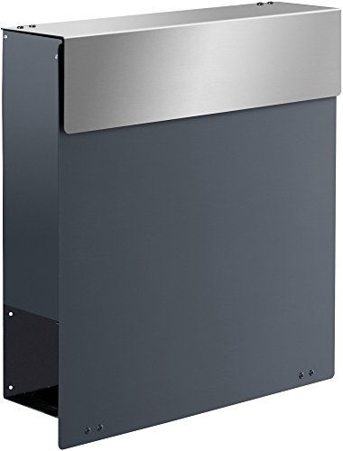 Frabox NAMUR SPECIAL EDITION Design Briefkasten, RAL 7012 Basaltgrau