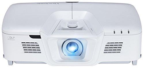 Viewsonic PG800HD Business DLP Beamer (Full-HD, 5.000 ANSI Lumen, HDMI, USB,2x 10 Watt Lautsprecher, 1.3x optischer Zoom) weiß
