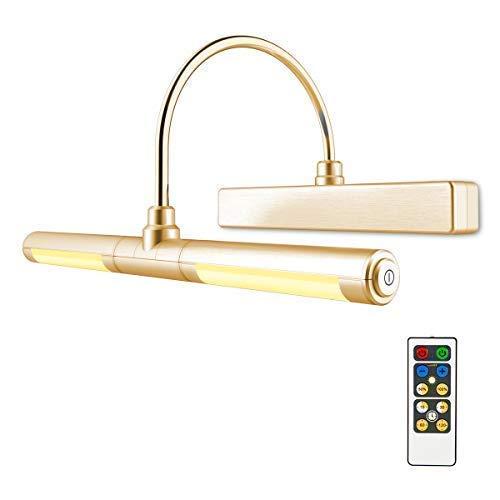 HONWELL lampada per quadri /Luci specchio bagno con telecomando/Luci a parete alimentate con...