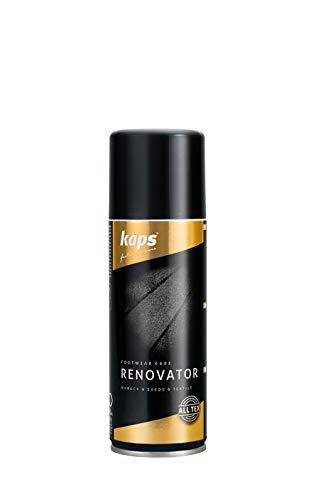 Kaps Renovator, Spray per rinnovare e rinfrescare i colori delle scarpe in pelle scamosciata, nabuk...