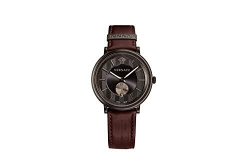 Versace VEBQ00419 - Orologio da uomo V-Circle con lancetta dei secondi piccola