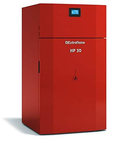 Chaudière à granulés et extra Flame HP30rouges [Extra Flame]