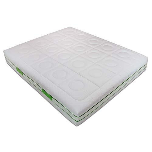 Baldiflex Materasso Singolo Molle Insacchettate e Memory, Green Spring 800 Molle + 3 cm Memory, 9...