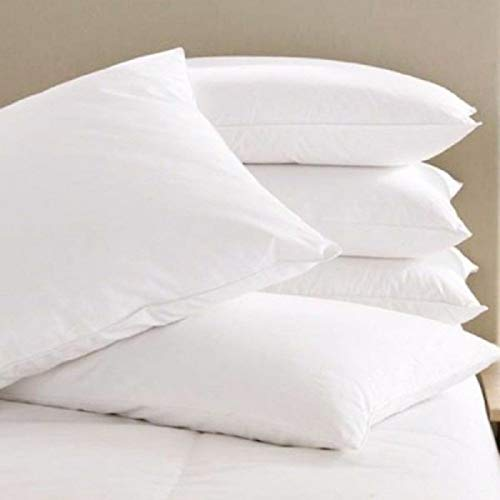 "ONLINE HUB. Fiber Filled 1 Piece Pillow Set - 17"" x 27"", Antique White"