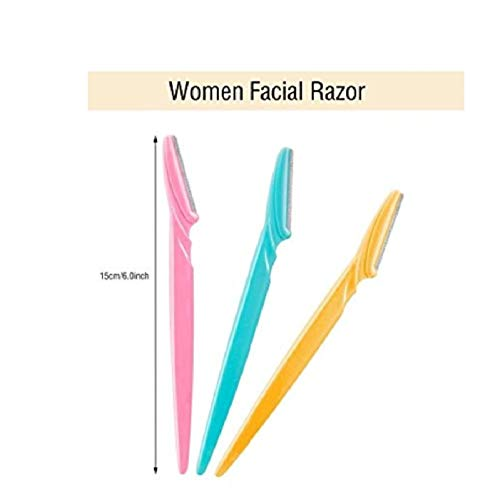Ar Stainless Steel Disposable Eyebrow Razor (Set of 3)