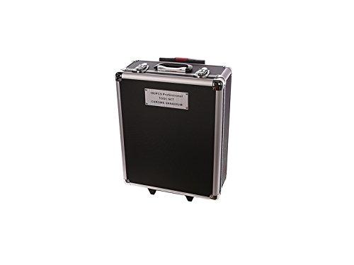 M & S Di Utensili Set 399pezzi nella pratica alluminio Trolley