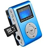 Crispy Stylish MP3 Player Digital Sound For Exercise And Walking (Multi-Color)