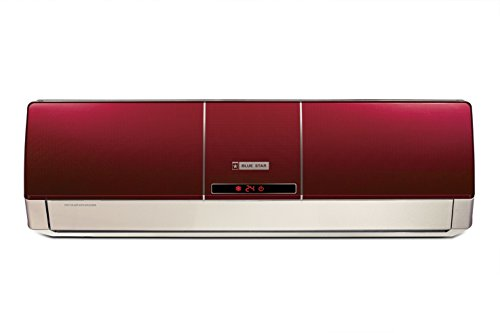 Blue Star BI-5HW18ZCRX Split AC (1.5 Ton, 5 Star Rating, Wine Red, Aluminum) with free standard installation*