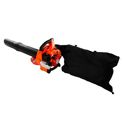 Accompanied by a collection bag, this leaf blower comes with a 1-year warranty. You will find it most befitting for light-medium domestic work.