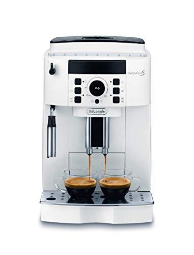 De'Longhi ECAM21.110.W Magnifica S Macchina per caffè espresso superautomatica, 1450 W, Bianco