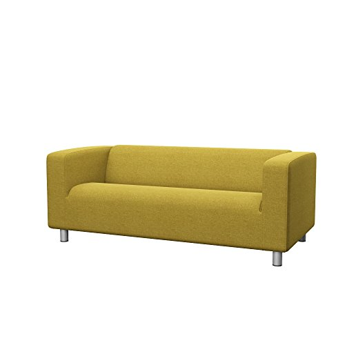 Soferia Fodera Extra Ikea KLIPPAN Divano a 2 posti, Tessuto Classic Dark Yellow