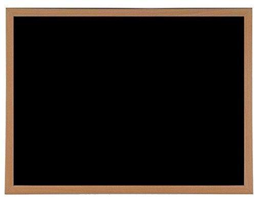 60cm x 40cm Resistente Magnetico Gesso Lavagna Legno Incorniciato Lavagnetta & Fissaggi