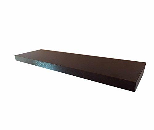 VE.CA.-Italy MENSOLE in Legno 100x23x4 cm di QUALITA' Made in Italy 6 Colori Differenti (Wenge')