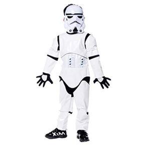 Hipoteca de Halloween Niños Star Wars Cosplay Ropa Blanca Disfraces Fuerza Despertar Imperio Stormtroopers