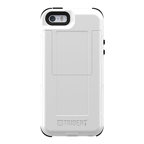 Trident Case Aegis Series Wallet for iPhone 5/5s - Retail Packaging - White