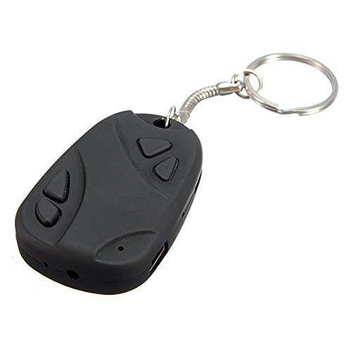 Hamtone Shopline Top 808#26 1080P Keychain Camera Hd RC Mini Action Cam Dvr H.264 POV Video Recorder with Loop/Driver Recording
