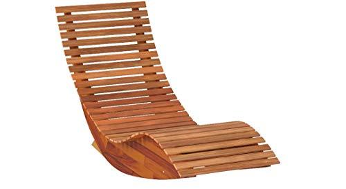vidaXL Schaukelbett aus Holz