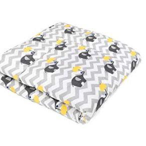 Manta para bebé de gatear y Alfombra acolchada de juego para bebés 100x100 / 120x120 y 100% algodón, OEKO-TEX, SWADDYL…
