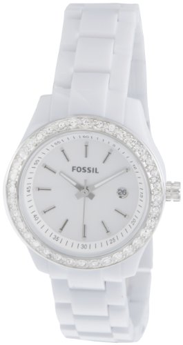Fossil End-of-Season Stella Analog Mother of Pearl Dial Women's Watch - ES2437