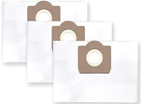 3x Vlies Staubbeutel Filtersack für FEINSTAUB/BAUSTAUB 6-lagig für SOTECO Vegas