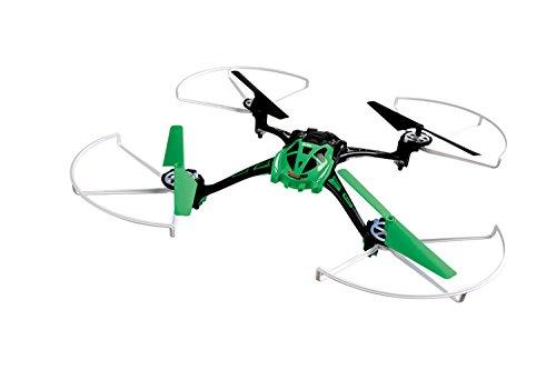 XciteRC 15013100 - Quadricottero radiocomandato Rocket 250 3D quadricanale, colore: Verde