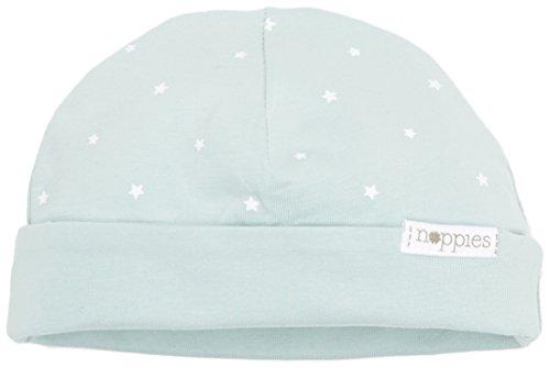 Noppies Unisex Baby U Hat REV Dani AOP 67338 Mütze, Green (Grey Mint C175), One (Size:0M-3M)