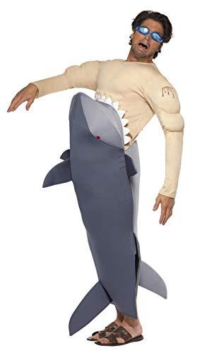Smiffy's - Disfraz de tiburón para hombre, tamaño universal