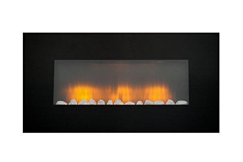 Classic Fire 53967 Vancouver - Calefactor de pared con efecto chimenea, 2000W