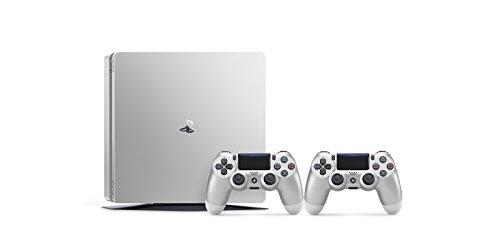 PlayStation 4 500GB argento + DS4 argento V2 [Bundle Limited]