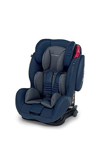 Foppapedretti  Isodinamyk Seggiolino Auto, Unisex Bambini, Blu (Jeans)