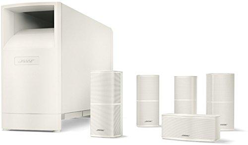 Bose Sistema di diffusori home cinema Acoustimass 10 Serie V, Bianco