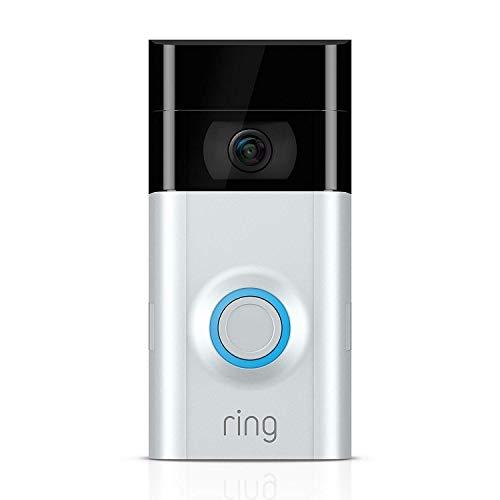Ring Video Doorbell 2 | Videocitofono in HD a 1080p, comunicazione bidirezionale, rilevazione di...