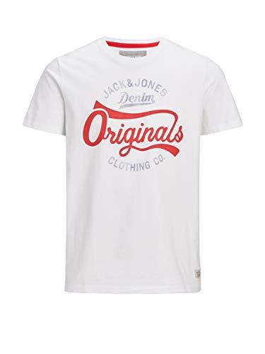 CORE by JACK & JONES Herren T-Shirt weiß S