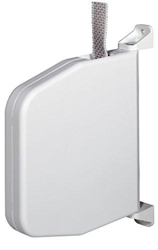Selve Gurtwickler 084803 Aufputz weiss mit Scharniersystem incl. 5m Gurt f. Rolladen (weiß)