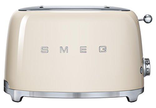 SMEG TSF01CREU Grille-pain 950 W, 1.5 liters, Crème