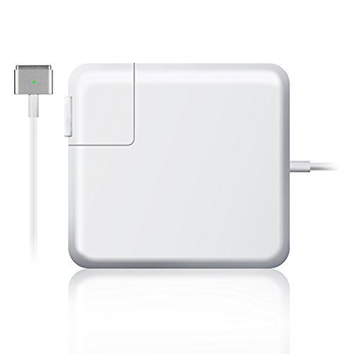 LS LAPSTER AC 45W Magsafe 2 T-tip Connector Replacement Charger Power Adapter for MacBook Air Charger 11 Inch 13 Inch (After 2012)