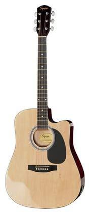 Fender 0930307006SA-105CE Chitarra acustica elettrificata Dreadnought a spalla mancante, colore:...