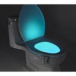 Stoga T03 attivata movimento / luce sensibile igienici LED automatico Nightlight del sensore di movimento della lampada Bagno per qualsiasi Night Light igienici Battery-Operated