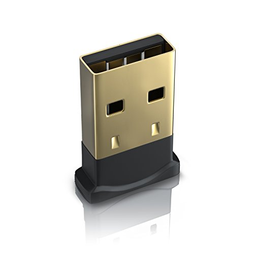 CSL-Computer USB nano Bluetooth-Adapter V4.0 | Bluetooth Dongle Class 4.0 Technologie | Plug & Play | Windows 10 fähig