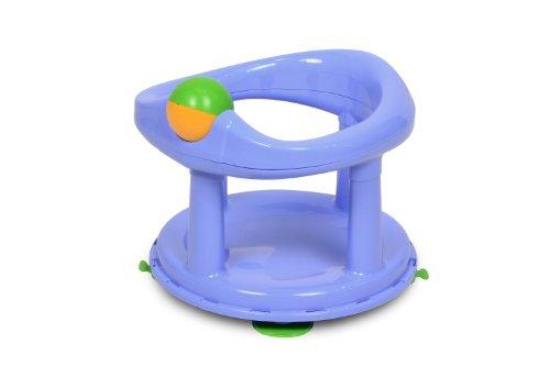 Safety 1st 32110009 360° drehbarer Badesitz, ergonomischer Sitz für die Badewanne mit Rollball und 4 Saugnäpfen, blau