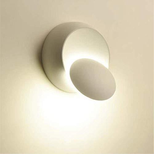 Lampada da Parete Moderna Plafoniera Girevole a 360 Gradi, Lampade Creative Scale a Corridoio...