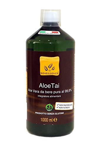 AloeTai Succo e Polpa di Aloe Vera da Bere al 99,8% 1000 ml