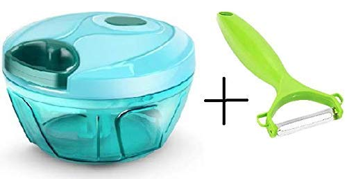 Xacton Vegetable dori Chopper Cutter with 3 Blade for Kitchen