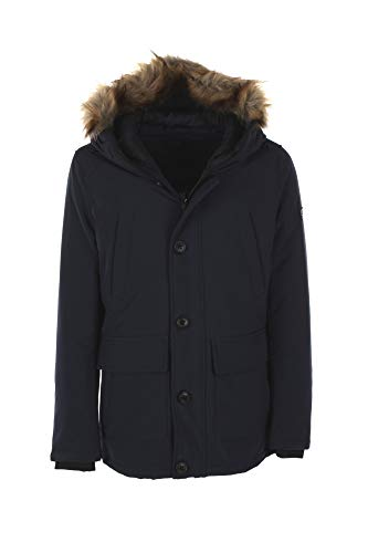 YES-ZEE Parka Uomo M Blu O836 N400 Autunno Inverno 2019/20