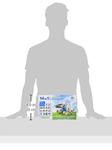 31DFgPJtdiL - CEBEKIT-C9921 CEBEK Kit Educativo Solar 14 EN 1, Color Amarillo (C9921)