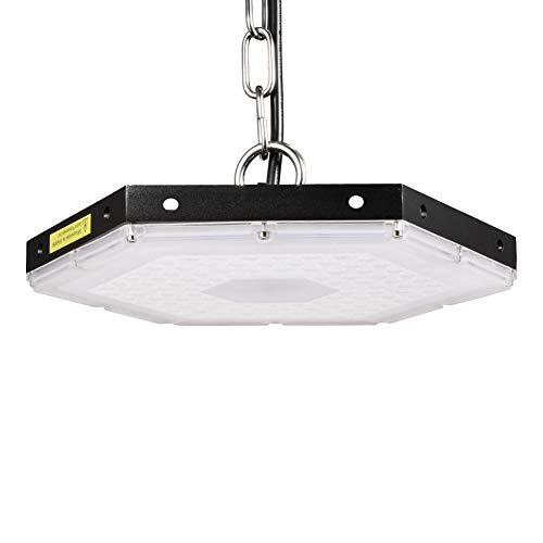 Viugreum LED UFO Lampada Industriale 100W, Illuminazione Bianco Freddeo Impermeabile IP65,9000LM per...