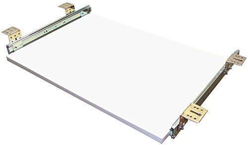 EisenRon Tastaturauszug weiss 60x30 cm Nutzhöhe 47mm Schublade Auszug für Tastatur