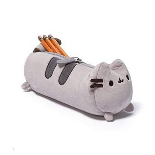 Titolare 1PC Cute Cat Peluche Pencil Bag Design Creativo Cassa Di Matita Matita Divertente Pouch...