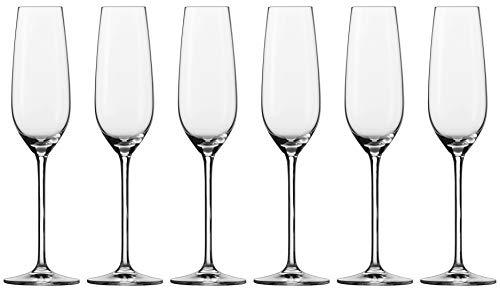 Schott Zwiesel FORTISSIMO Sektglas, Glas, transparent 26 x 18 x 27.3 cm, 6-Einheiten